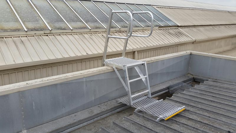 Angled Ladders