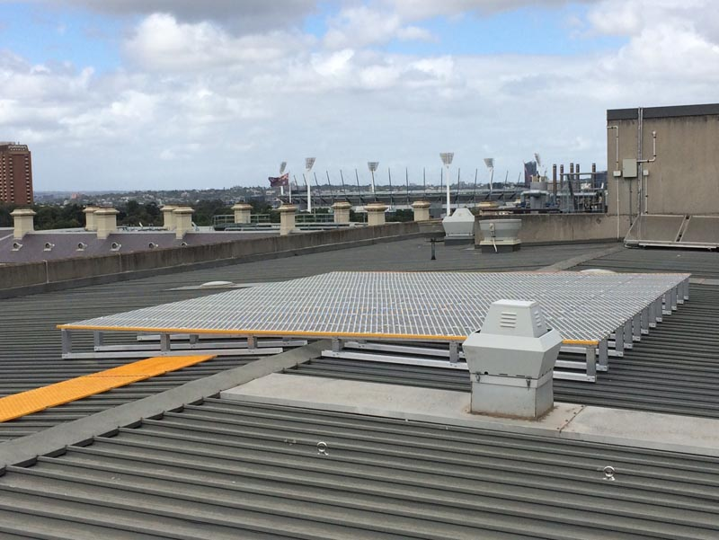 Roof Access Platform Systems For Plant And Equipment