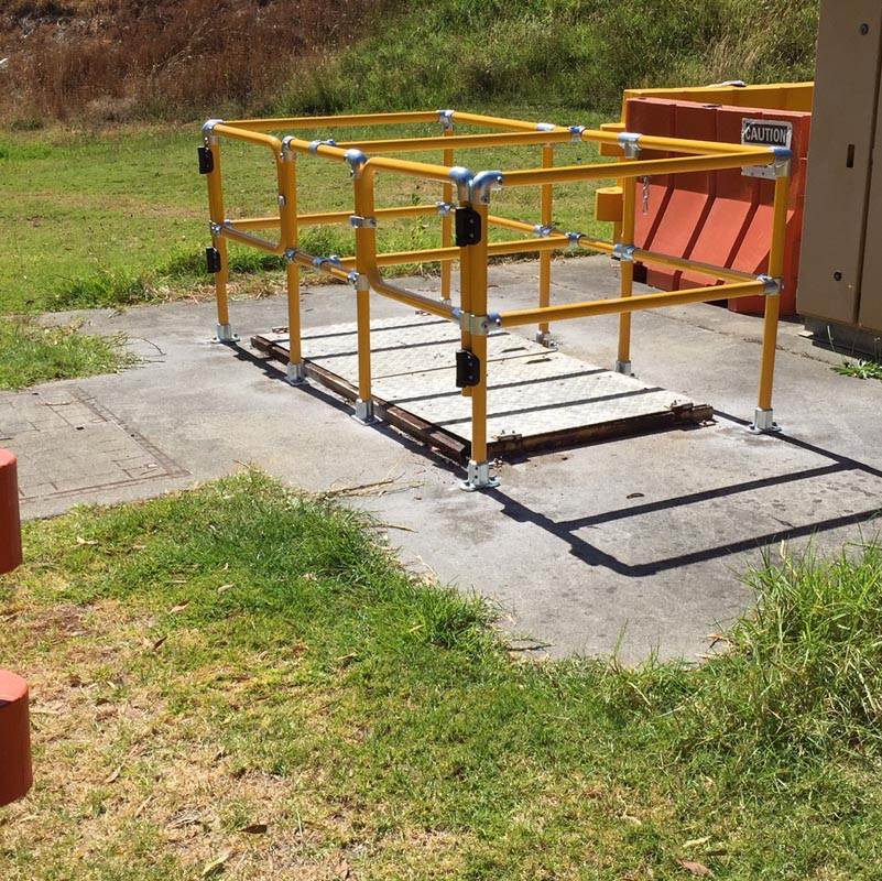 Barrer Handrail