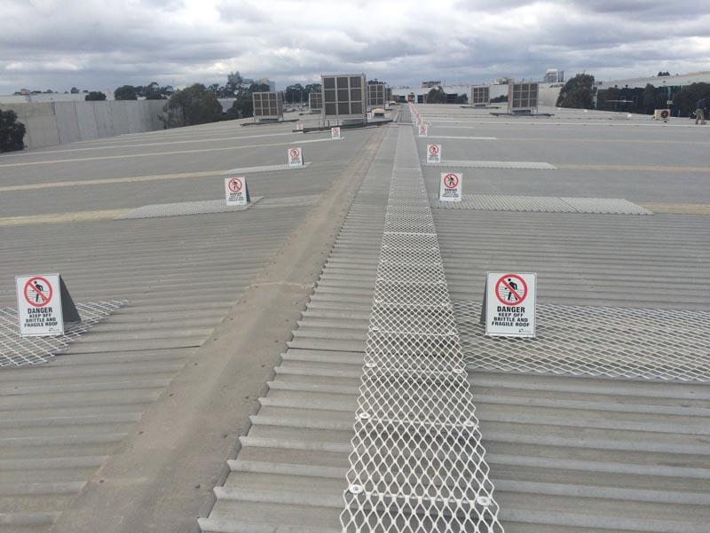 Roof Walkway Solutions   Aluminium Roof Walkways   Safe