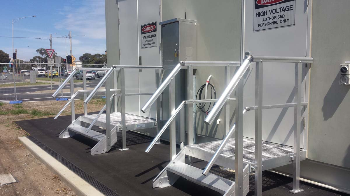 Step Ladders & Stair Systems